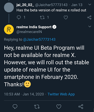 Realme-X-Android-10-beta