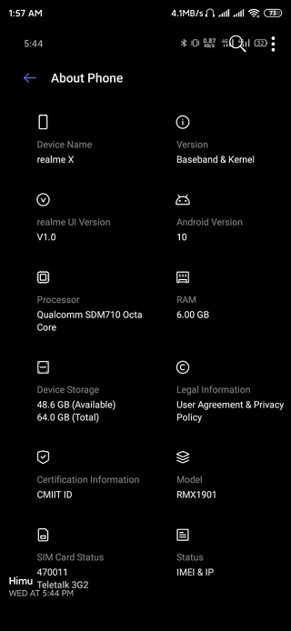 Realme-X-running-Realme-UI-based-on-Android-10