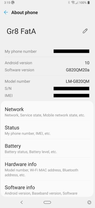 about android 10 lg g8 thinq