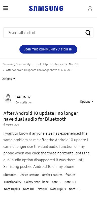 note 10 + issue