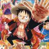 Luffy dresses up as Naruto in the latest volume of One Piece Party