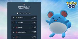 Go Battle League Leaderboard