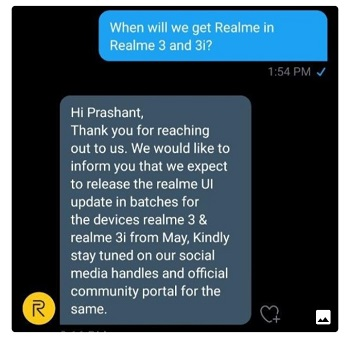 realme 3 android 10