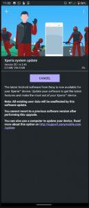 xperia 1 april update