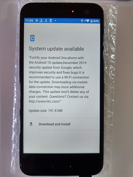 HTC-U11-Life-Android-10-update