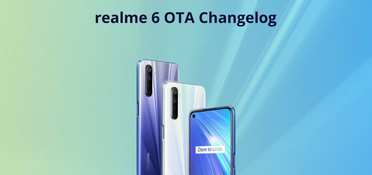 Realme 6 April update fixes game space, adds charging animation, & more; Realme X50/X50m also get April patch