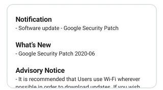 Nokia 3.1 June Patch