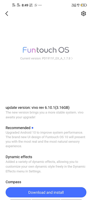 Vivo-Z1-Pro-Android-10-update-1