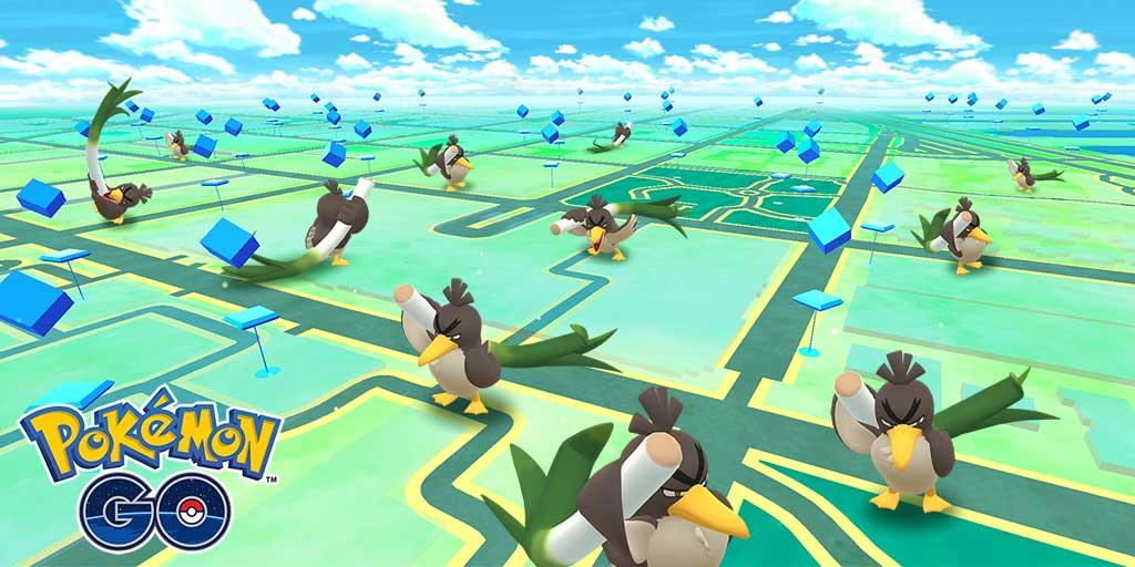 Pokemon GO to feature Galarian Farfetch'd & three new Pokemon Games announced for 2020