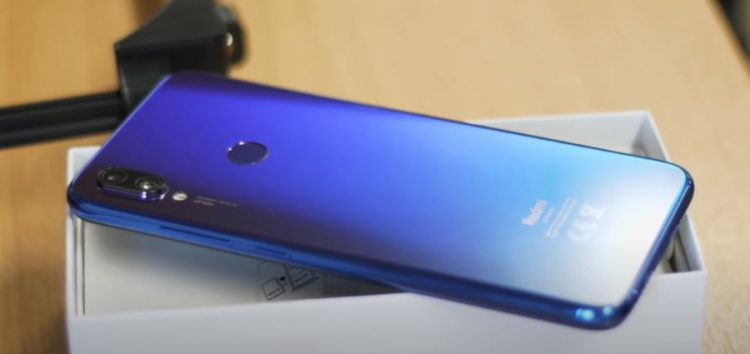 Did Xiaomi Redmi Note 7 just get an update to prepare it for MIUI 12?