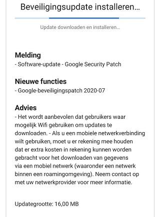 Nokia 6.2 July OTA