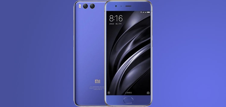 Xiaomi Mi 6 Android 10 up for grabs as Evolution X 4.4 custom ROM (Download link inside)