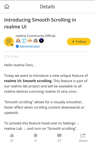 Realme-Smooth-Scrolling-1