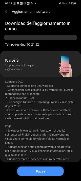 Samsung Galaxy S20+ 5G_One UI 2.5_Update