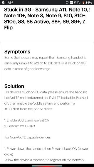 Sprint-Samsung-Issues
