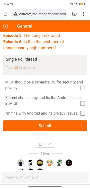 miui vs android poll