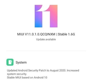 redmi-8a-dual-android-10-update-india