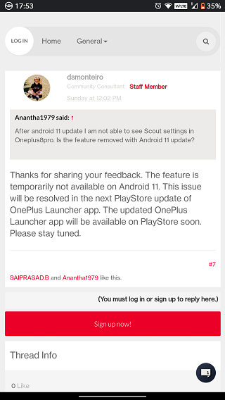 OxygenOS-11-OnePlus-Scout-issue-fix-soon