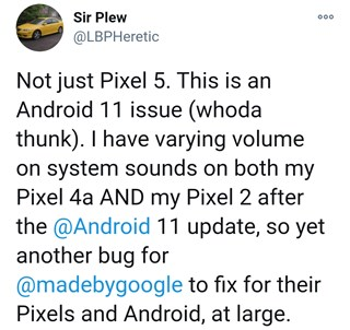 google-pixel-android-11-bugs-issue