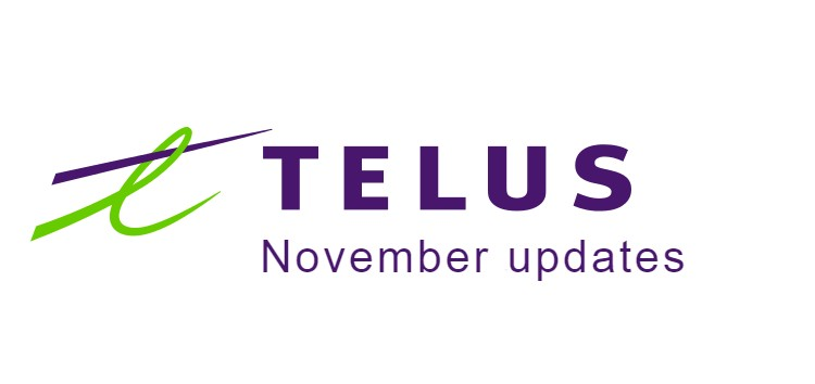 [Update: Apr. 10] TELUS is releasing new updates to these phones this month