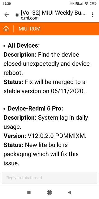 Redmi-6-Pro-MIUI-12-lagging-issues