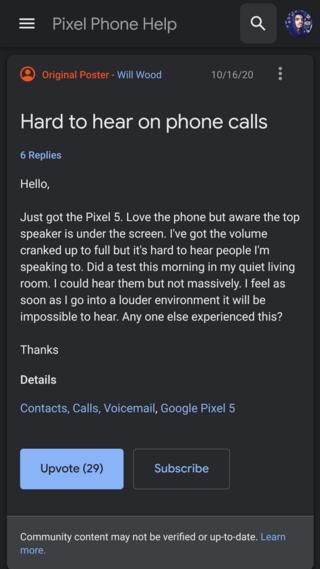 pixel-5-low-call-volume