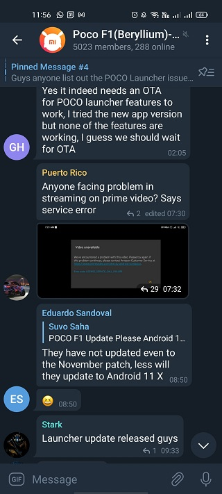Poco-F1-MIUI-12-Amazon-Prime-issues