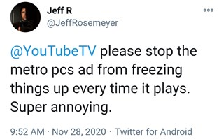 youtube-tv-metro-by-t-mobile-ad-freezing-issue