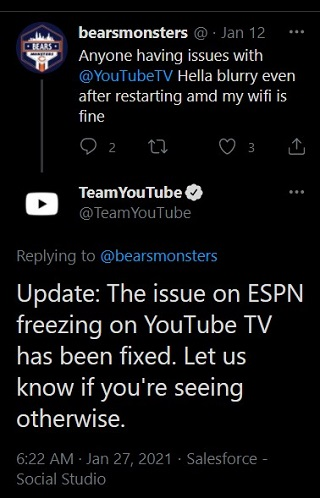 YouTube-TV-ESPN-freezing-issue-fixed
