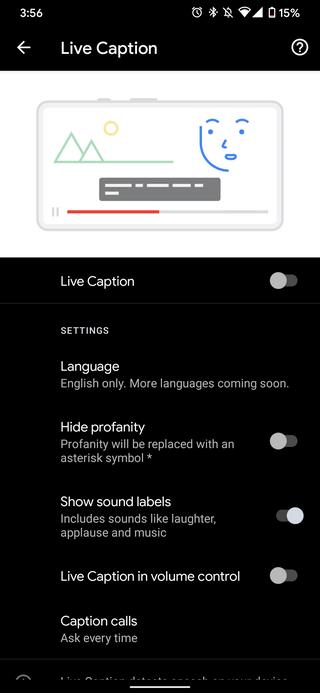 google-live-caption