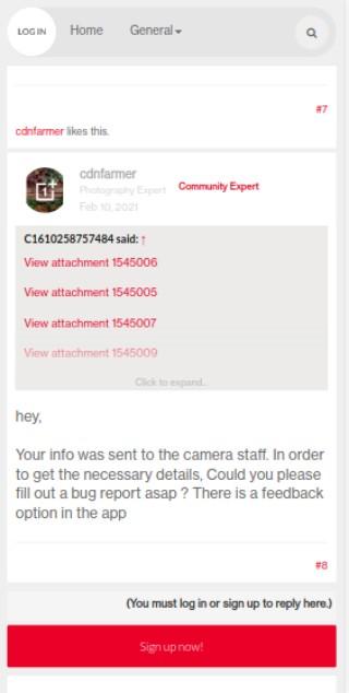 community expert oneplus 8 camera