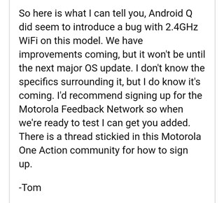 motorola-one-action-wi-fi-bug-android-10-fix-with-android-11