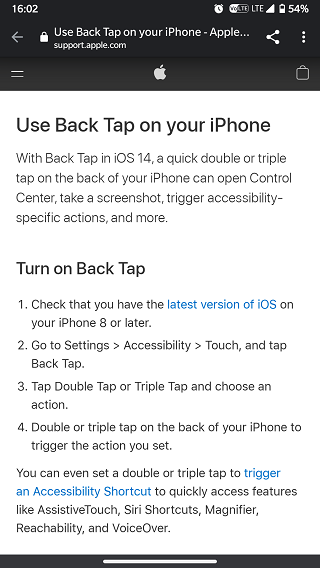 Disable-Back-Tap-gestures