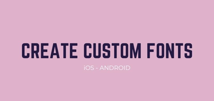 Fontise (iOS) & Fonty (Android) apps let you create your own fonts