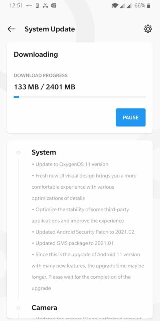 oneplus 7 android 11