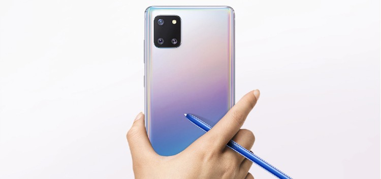 Samsung Galaxy Note 10 Lite One UI 3.1 update rolling out in India