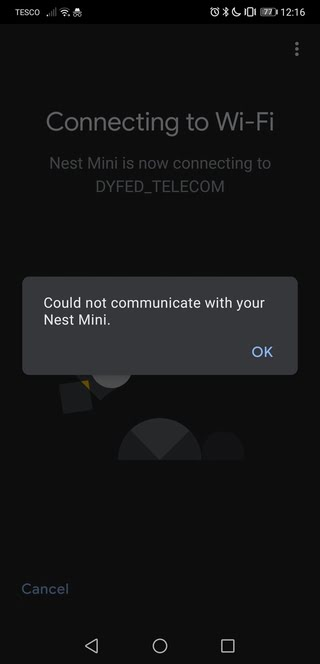 could-not-communicate-with-nest-google