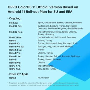 europe april oppo rollout plan