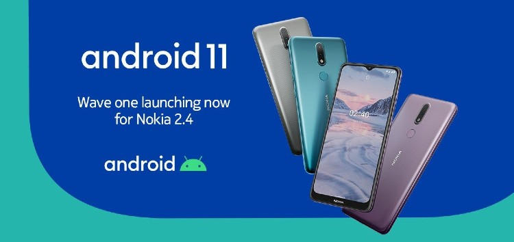[Update: Download link] Nokia 2.4 Android 11 update begins rolling out