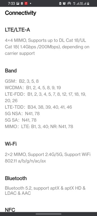 oneplus 9 india variant 5g bands