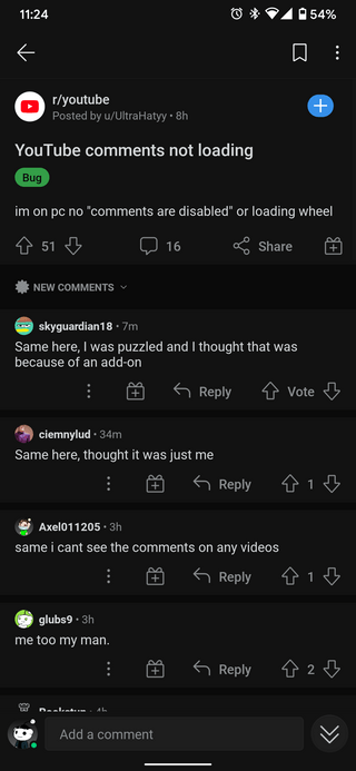youtube-comments-not-loading-showing