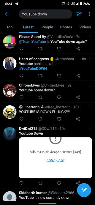 youtube-down-twitter