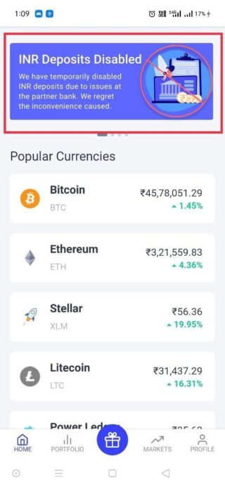 coinswitch-kuber-inr-deposits-down