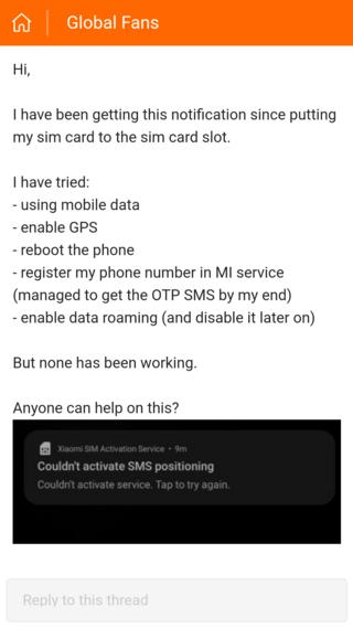 xiaomi-sim-activation-issue