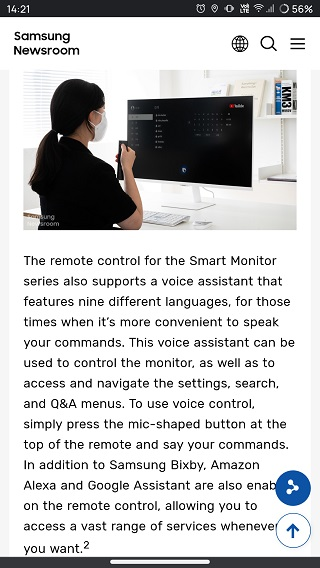 Samsung-Smart-Monitor-lineup-virtual-assistant-support