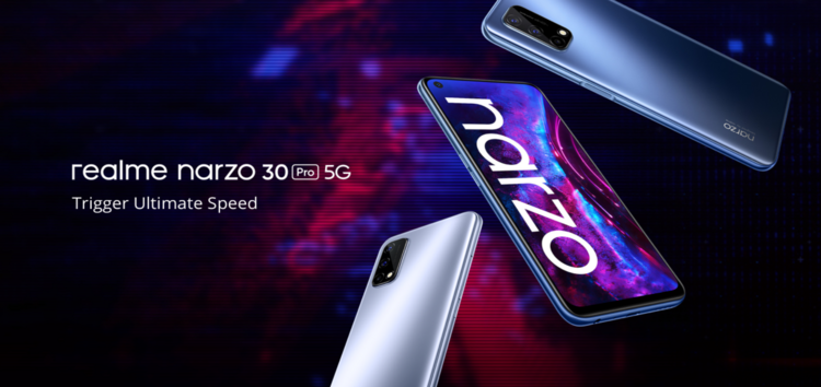 [Update: Narzo 30A & 5 Pro too] Realme Narzo 30 Pro 5G Realme UI 2.0 (Android 11) Early Access applications open