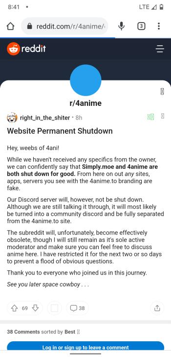 4anime shutdown