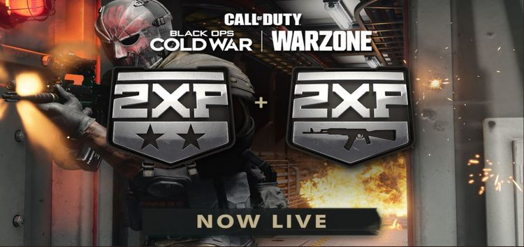 COD Warzone Double Weapon XP not working or applying for some
