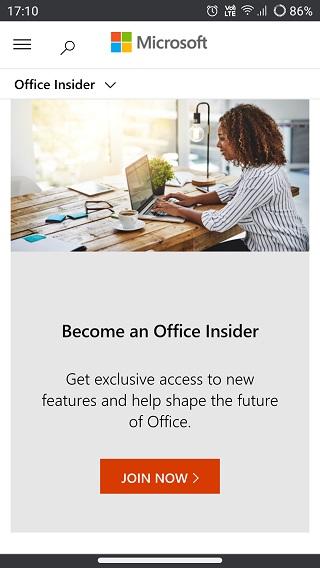 Microsoft-Office-Insider-program