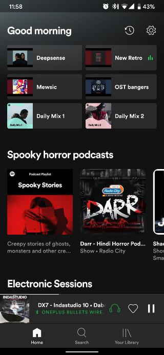 Spotify-Android-screenshot